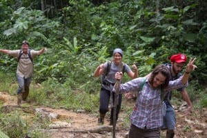 Hiking to the Communities