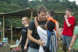 Ryan Lawless in Ecuador Village