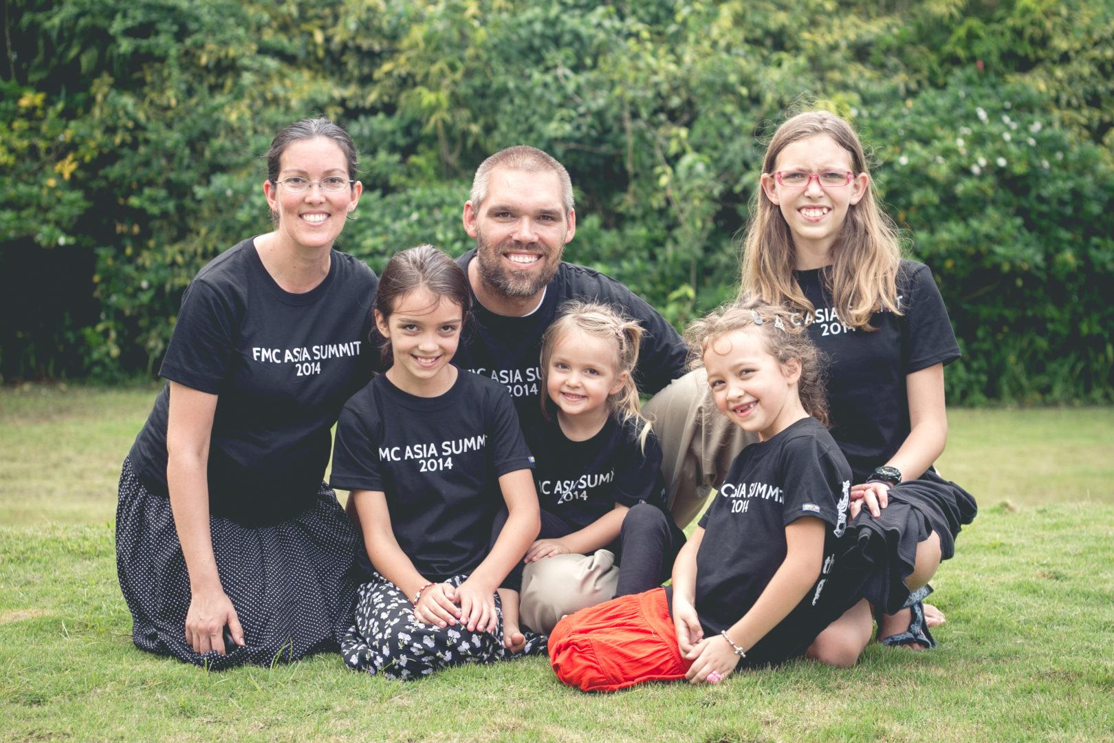 Bailey Family, Catholic Missionaries