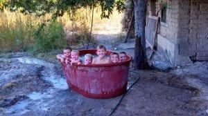 JTK Kids in Tub