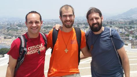Russ, Luke and Jeremy on Morro Solar hill