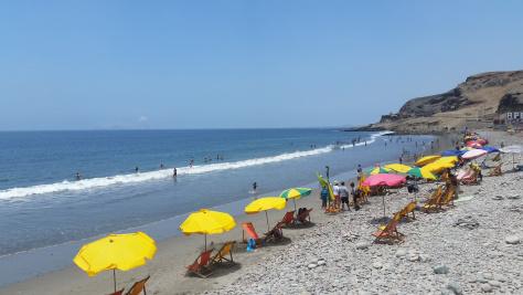 La Chira beach
