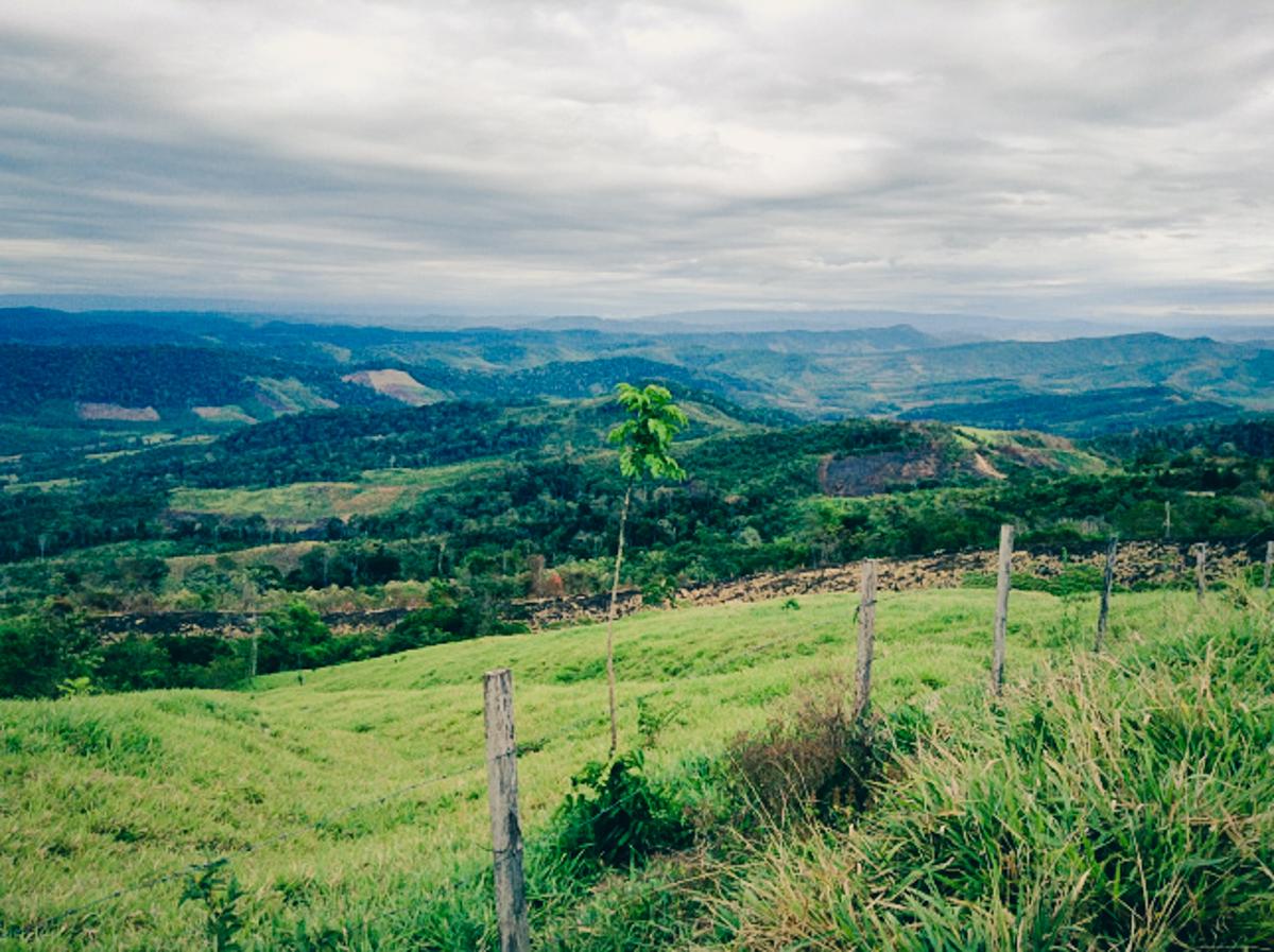 Beautiful Peru mission landscape