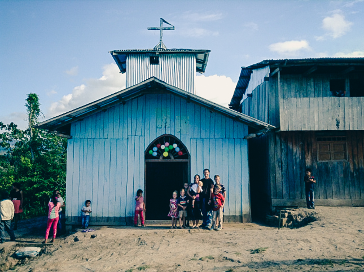 Kiehl Missionary family in Peru