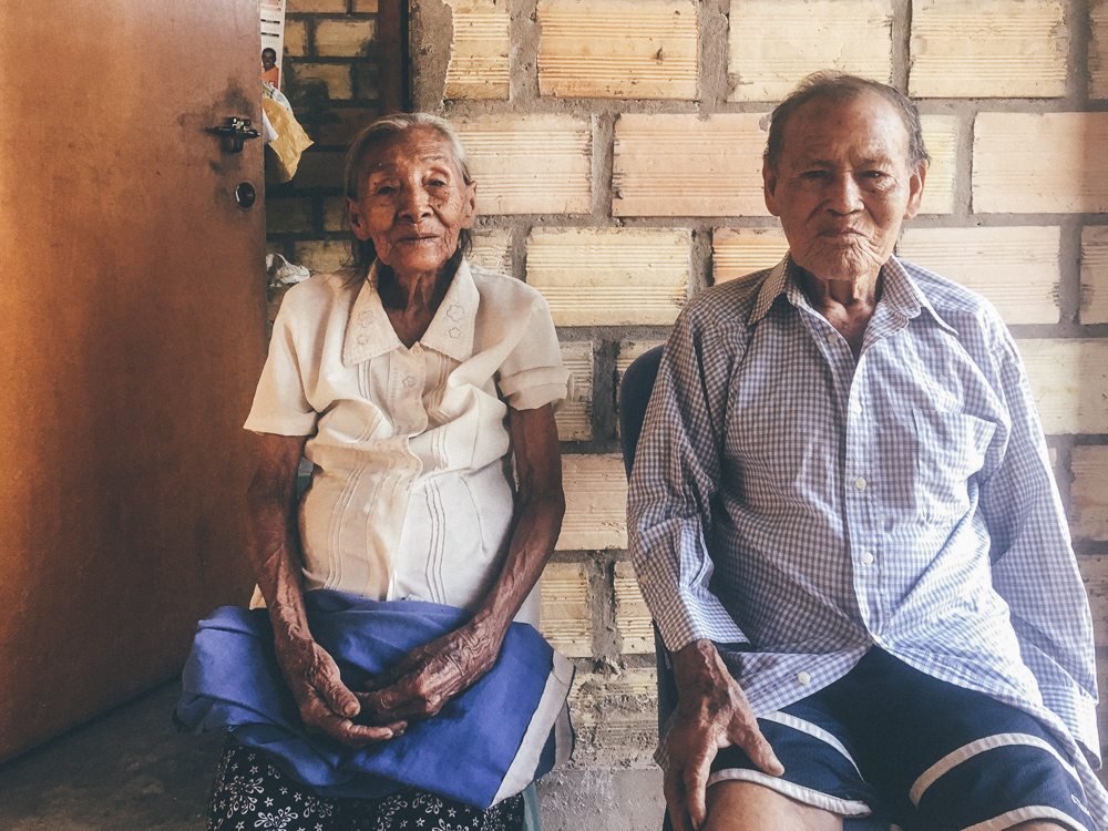 Elderly Peruvian Couple Isaura and Hector